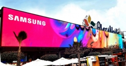 Samsung creates digital OOH landmark in Lima, Peru