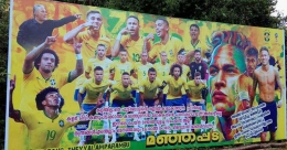 NGOs in Kerala reuse FIFA campaign flexes to give roof to the needy