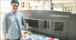Aakar Sign & Prints goes green with Efi™ LED VUTEk® GS2000LX Pro