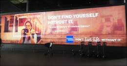 American Express campaign exemplifies its omnipresence