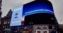 Samsung Galaxy Note9 dazzles on OOH