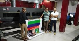 Pixel 2 Print installs Arrow Digital's Efi Vutek GS3200 in Bengaluru unit