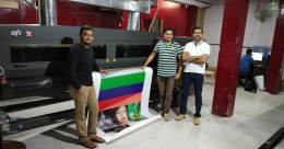 Pixel 2 Print installs Arrow Digital's Efi Vutek GS3200 in Bengaluru unit