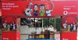 Vodafone brings back eco-friendly ponds for Ganesh Chaturthi