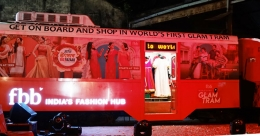 fbb Glam Tram criss-crosses Kolkata