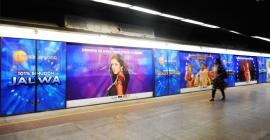 ZEEL boards Delhi Metro to promote new Bollywood Channel
