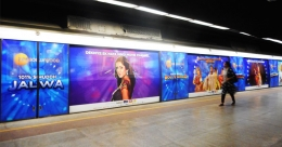 ZEEL boards Delhi Metro to promote new Bollywood Channel