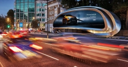 JCDecaux unveils The Kensington, a unique, sculptural digital canvas