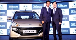 Hyundai Santro gears up for strong OOH presence