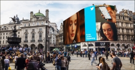 Twitter celebrates big cultural moments on Piccadilly Lights