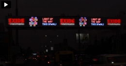 Exide shines bright on OOH canvas ahead of Diwali