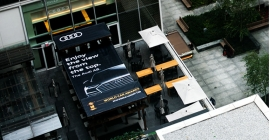 Audi gives New Yorkers a good 'view from the top'