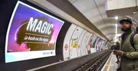 UK's OOH revenues up 7.3%  at £300 million