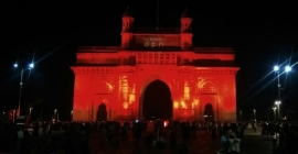National Geographic goes red in 'monumental' message