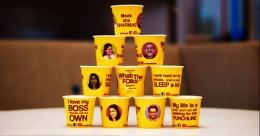 Now showing: 'What the Folks!' on tea cups!
