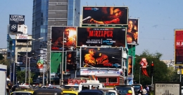A sneak peek of 'Mirzapur' on OOH
