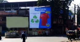 Long-term OOH drive for Decathlon's new store