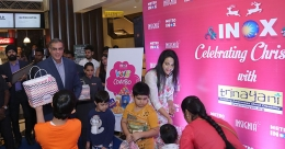 INOX brings alive the X-Mas spirit with a social cause