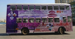 THAI airline captures South Mumbai on fleet