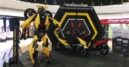 TVS Ntorq 125 'Bumblebee' transformer races ahead
