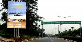 Prakash Arts upgrades Vijayawada Airport media