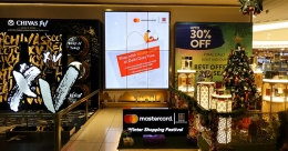 Mastercard India wows international passengers at IGIA