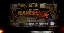 ZEE5's 'Rangbaaz' hits the OOH space