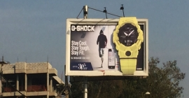 Watch this one: G Shock goes big on OOH