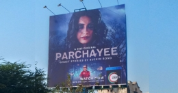 Now showing  Zee5's 'Parchayee' on OOH