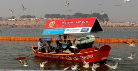 Parryware urges Kumbh pilgrims to make a clean start