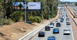 JCDecaux's APN Outdoor unveils digital supersite on Perth motorway