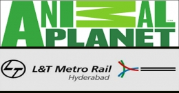Animal Planet, L&T Metro Rail Hyderabad on 'save the tiger' drive