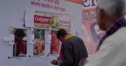 Colgate-Palmolive's 'suraksha'drive at Kumbh Mela