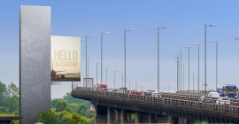 Ocean, AGS Airports launch 40m advertising tower near Glasgow International Airport