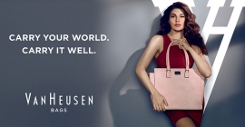 Van Heusen to tap OOH to promote new bags line