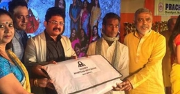 OAA, WB converts used flex into sleeping bags for under-privileged