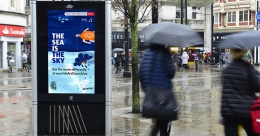 Showers trigger 'The Sea Is The Sky' campaign in UK cities