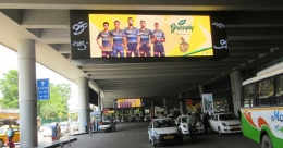 Greenply-KKR's high visibility presence at Kolkata airport