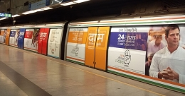 Congress takes the Metro route for campaigning in Delhi