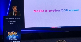 Mobile is another OOH Screen: Marc- Antoine de Roys