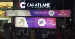 CaratLane dangles offers on OOH ahead of Akshaya Tritiya