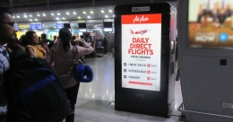 Air Asia campaign takes off with a bang