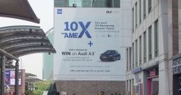 Amex launches 10XwithAmex with mall branding