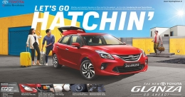 Toyota's new Glanza Go Hatchin' campaign to go on OOH soon