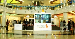 Singapore Airlines' activation takes off at  South City Mall