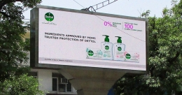 Dettol says it with the MOM Mandate on OOH