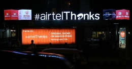 #AirtelThanks customers with multiple offerings in one unique OOH campaign