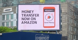 Amazon Pay's features get OOH shout-out