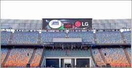 LG unveils advanced LED screens installed at Cairo stadium