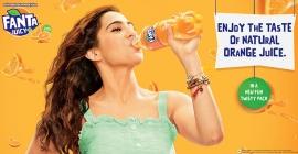Sara Ali Khan to promote Fanta's new Juicy+ variant